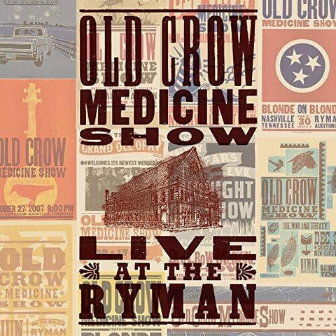 Old Crow Medicine Show - Live at the Ryman LP