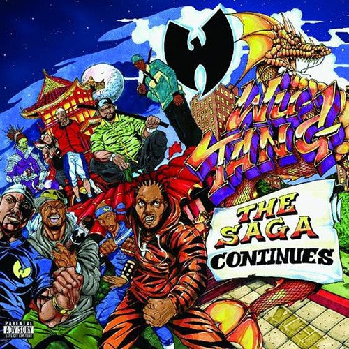 Wu-Tang Clan - The Saga Continues 2LP