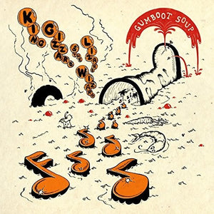 King Gizzard & the Lizard Wizard - Gumboot Soup LP (Ltd Orange w/ Black & Red Splatter Edition)