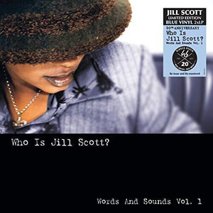 Jill Scott - Who Is Jill Scott? 2LP (Ltd Blue Vinyl Edition)