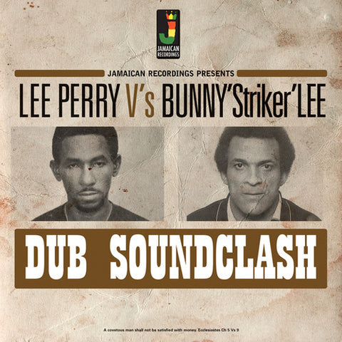 Lee 'Scratch' Perry vs. Bunny 'Striker' Lee - Dub Soundclash LP