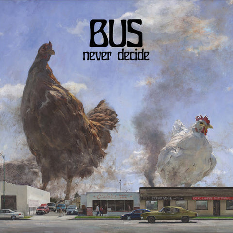 Bus - Never Decide LP