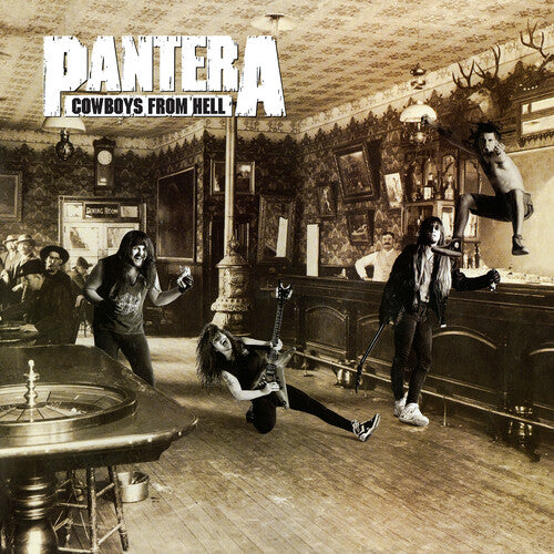 Pantera - Cowboys from Hell LP (Ltd White & Whiskey Brown Vinyl)