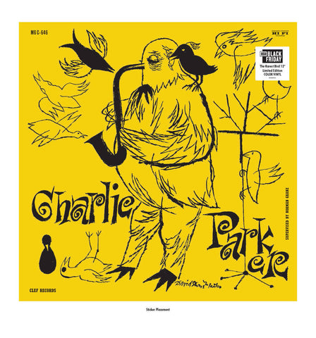 Charlie Parker -The  Magnificent Charlie Parker LP