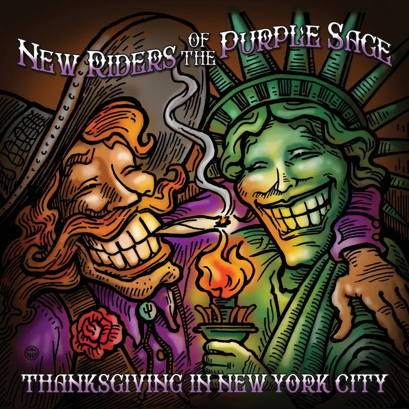 New Riders of the Purple Sage - Thanksgiving in New York City 3LP
