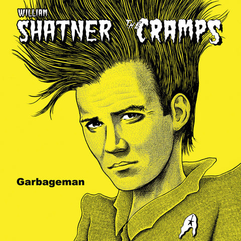 William Shatner / The Cramps - Garbageman 12""