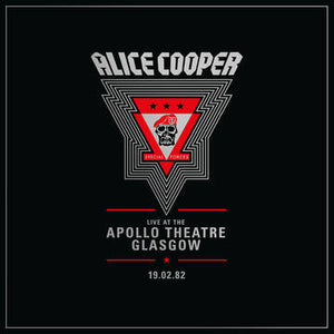 Alice Cooper - Live at the Apollo Theatre Glasgow 19Feb1982 2LP