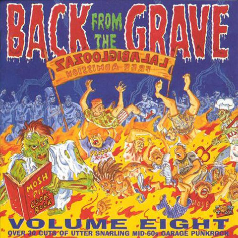 Various - Back From the Grave, Vol 8: 36 Cuts of Utter Snarling Mid-60s Garage Punk 2LP