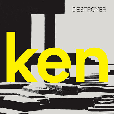 "Destroyer - ken LP (Ltd Deluxe Yellow Vinyl Edition with 7"")"