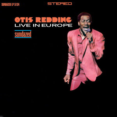 Otis Redding - Live in Europe LP