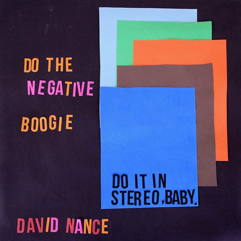David Nance - Negative Boogie LP
