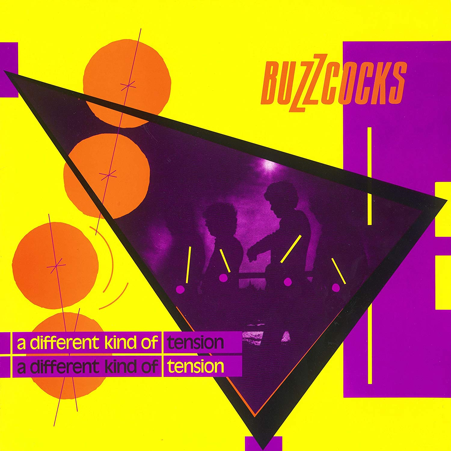 Buzzcocks - A Different Kind of Tension LP