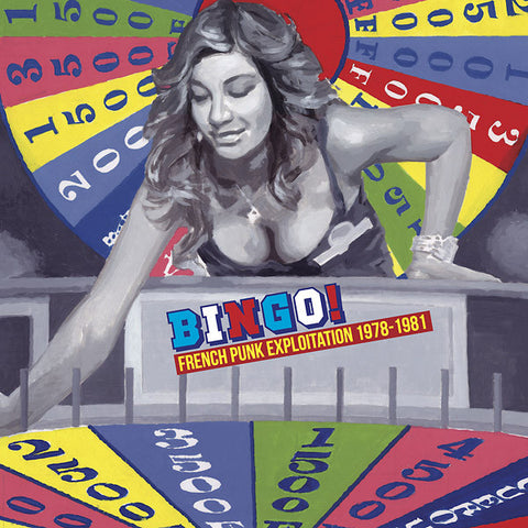 Various - Bingo! French Punk Exploitation 1978-1981 LP