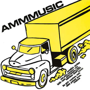 AMM - AMMMusic LP