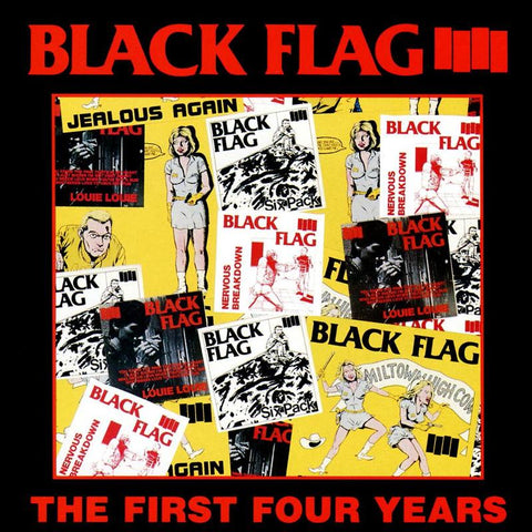 Black Flag - First Four Years LP