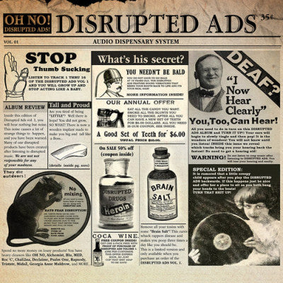 Oh No - Disrupted Ads 2LP
