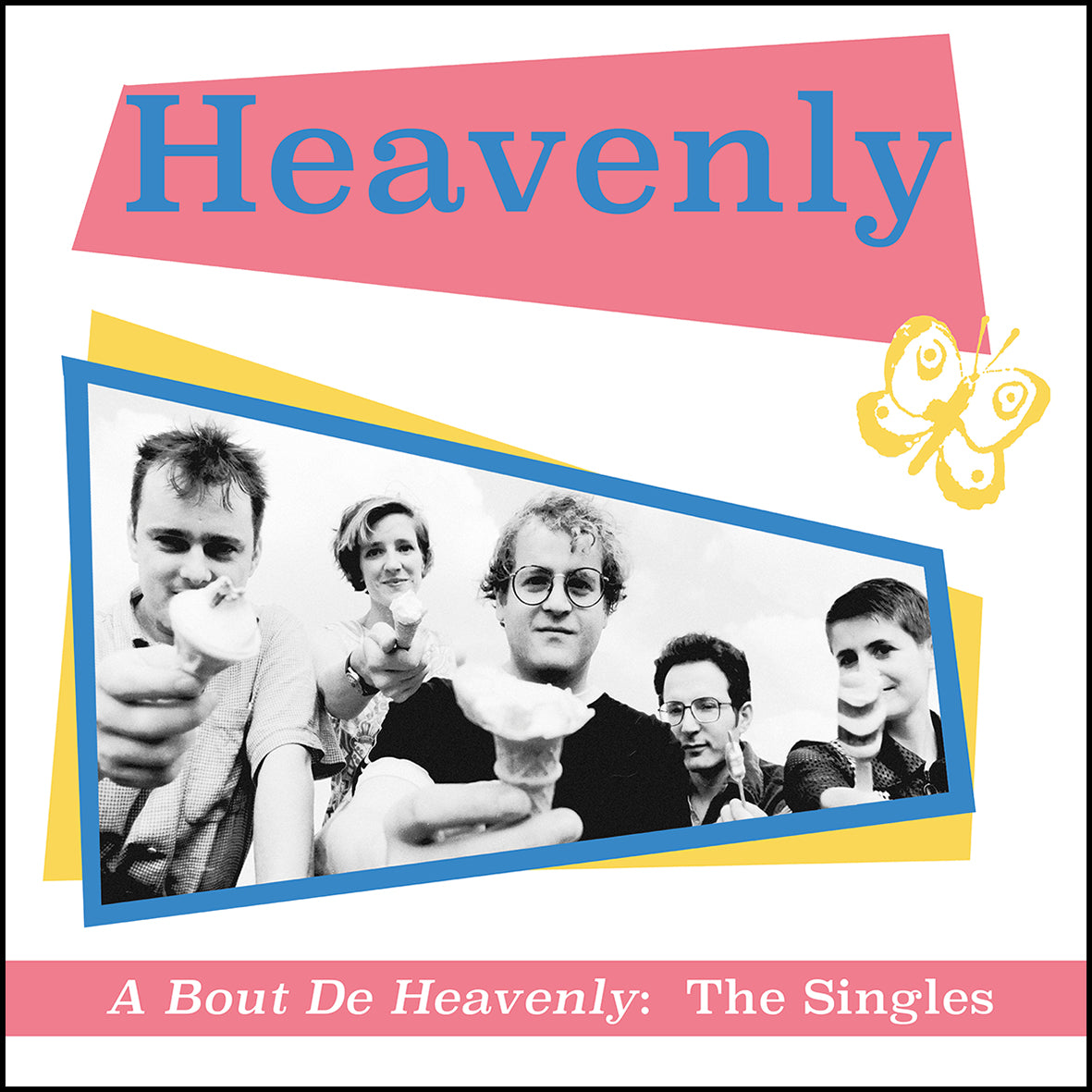 Heavenly - A Bout De Heavenly: The Singles LP