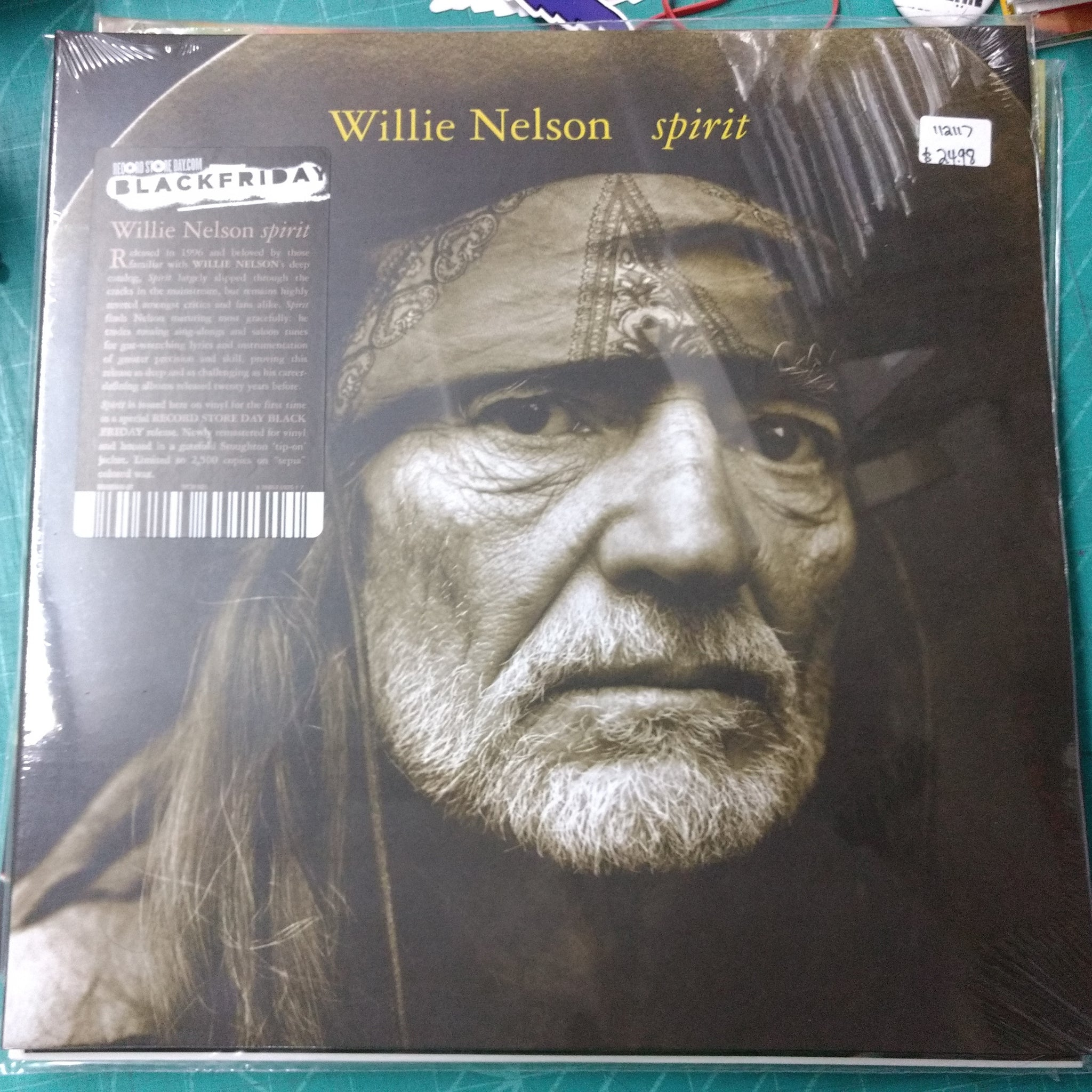Willie Nelson - Spirit LP