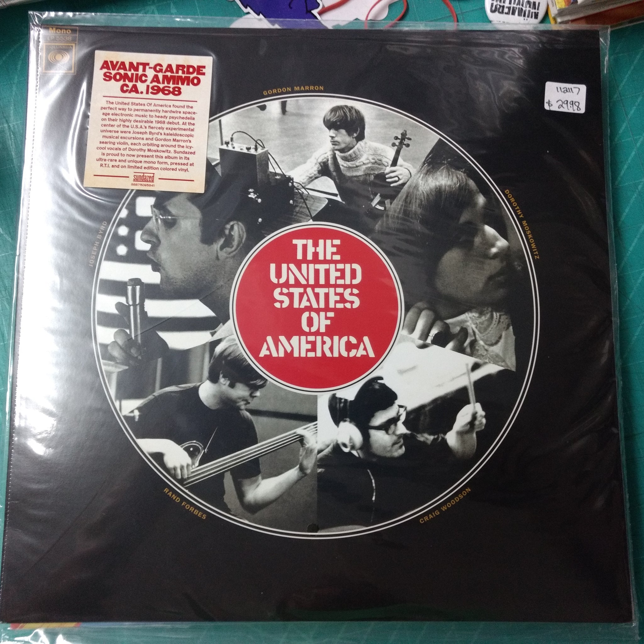 The United States of America - self-titled LP