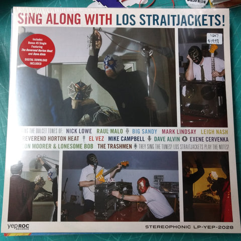 Los Straitjackets - Sing Along With LP