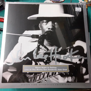 John Lee Hooker - Black Night Is Falling: Live at the Rising Sun Jazz Club LP