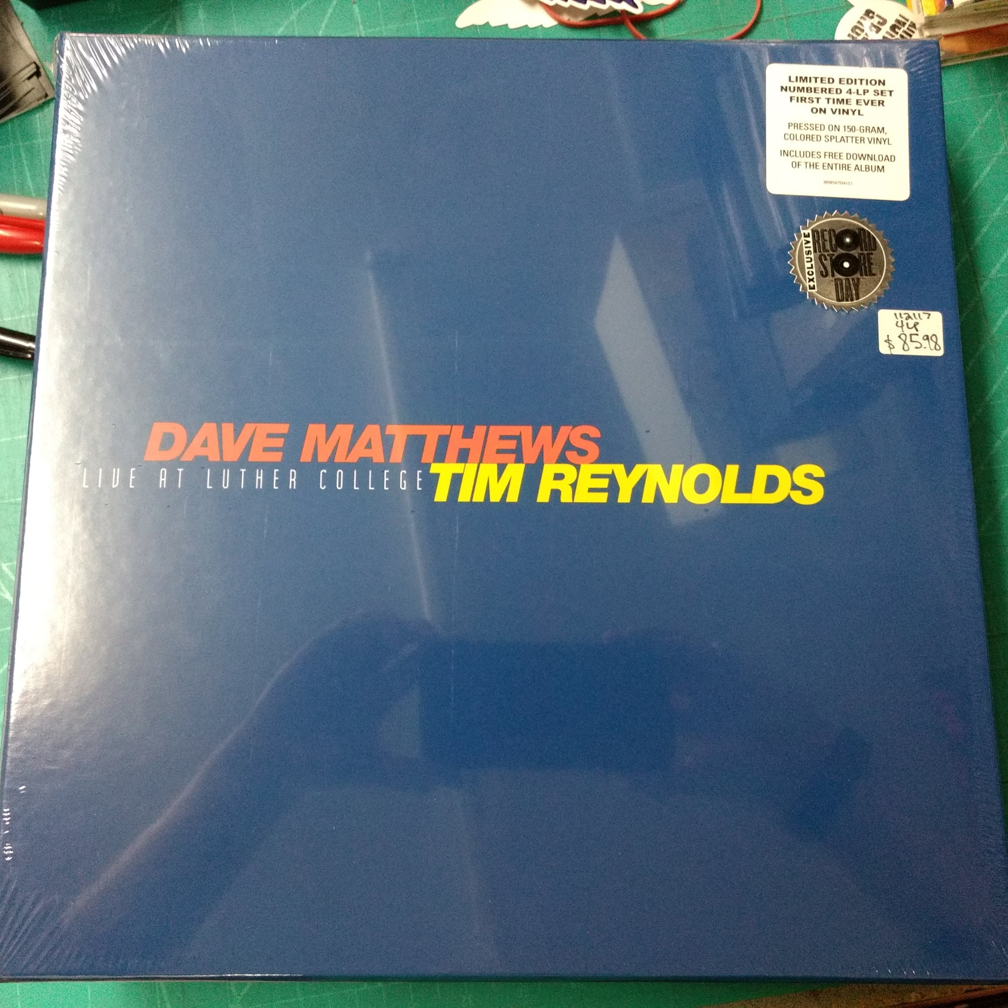 Dave Matthews & Tim Reynolds - Live at Luther College 4LP