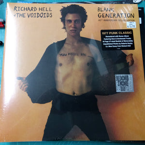 Richard Hell & the Voidoids - Blank Generation Deluxe 2LP