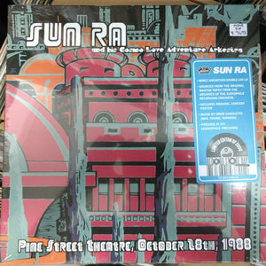 Sun Ra - Pine Street Theatre Oct 28th, 1988 2LP