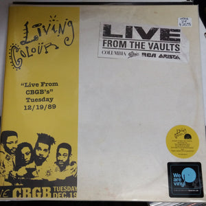 Living Colour - Live from CBGBs 12/19/89 2LP