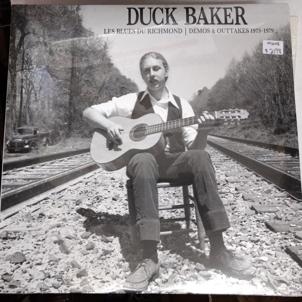 Duck Baker - Les Blues Du Richmond: Demos & Outtakes 1973-79 LP