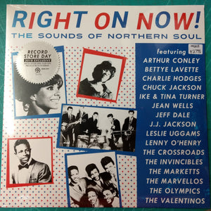 Various - Right On Now! The Sounds of Northern Soul LP