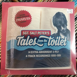 Sgt. Salt Peter's - Tales from the Toilet 10""
