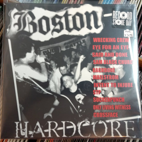 Various - Boston Hardcore LP