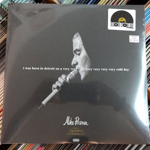 Mike Posner - I Was Born in Detroit on a Very Very Very Very Very Very Very Cold Day 2LP