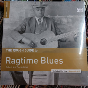 Various - The Rough Guide to Ragtime Blues LP