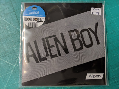 Wipers - Alien Boy 7""