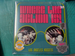 Various - Where the Action Is: Los Angeles Nuggets 2LP