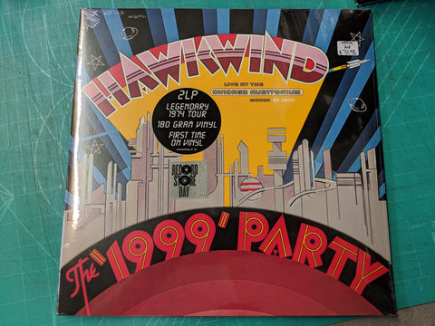 Hawkwind - The 1999 Party: Live Chicago 1974 2LP