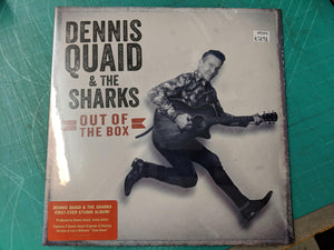 Dennis Quaid & The Sharks - Out of the Box LP