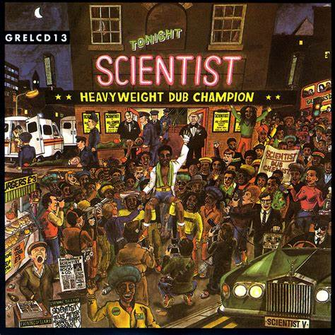 Scientist - Heavyweight Dub Champion LP