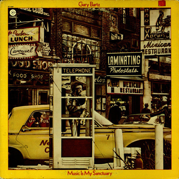 Gary Bartz - Music Is My Sanctuary LP