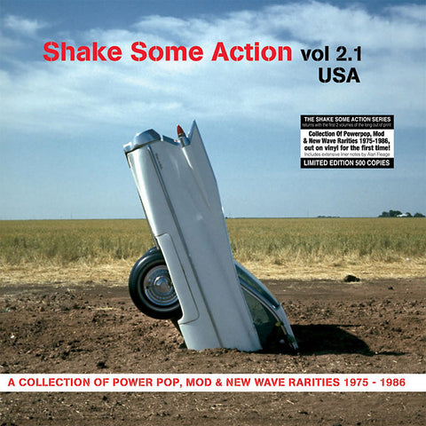 Various - Shake Some Action, Vol. 2.1 USA: A Collection of Power Pop, Mod & New Wave Rarities 1975-1986 LP