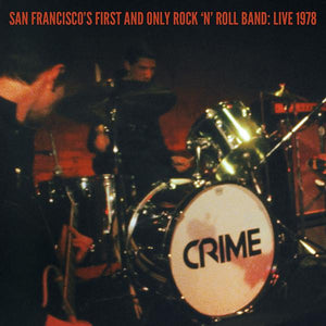 "Crime - San Francisco's First & Only Rock'n'Roll Band: Live 1978 2x7"" + DVD"