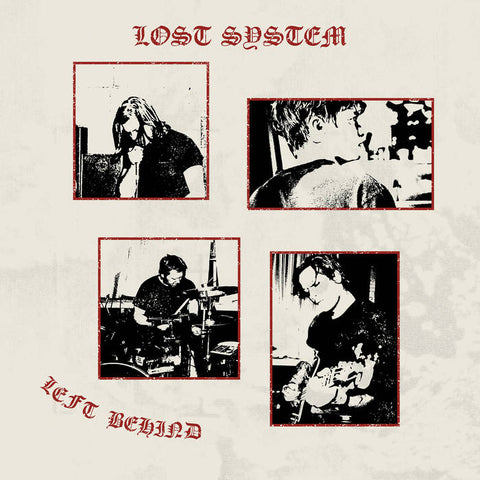 Lost System - Left Behind LP
