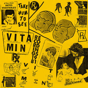 Vitamin - Recordings 1981 LP (Ltd White Vinyl Edition)