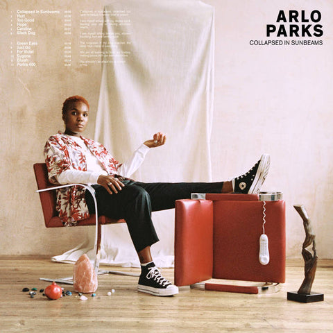 Arlo Parks - Collapsed in Sunbeams LP (Ltd Deep Red Vinyl)