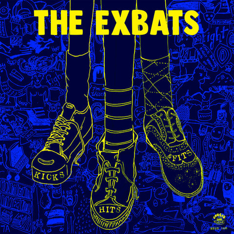 The Exbats - Hits, Kicks and Fits LP