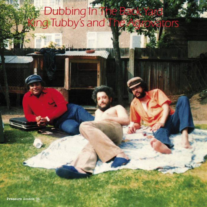 King Tubby & The Agrovators - Dubbing in the Back Yard LP