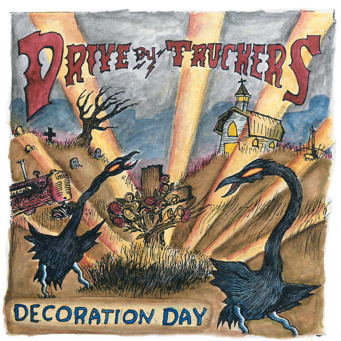 Drive-By Truckers - Decoration Day 2LP (Ltd Clear w/ Gold Splatter Edition)
