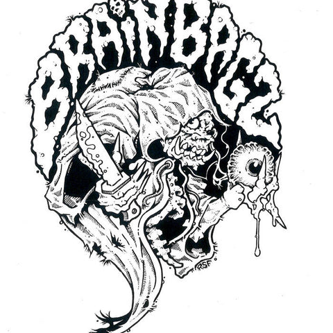 Brain Bagz / Blood Bags - Brain Bagz / Blood Bags Split LP